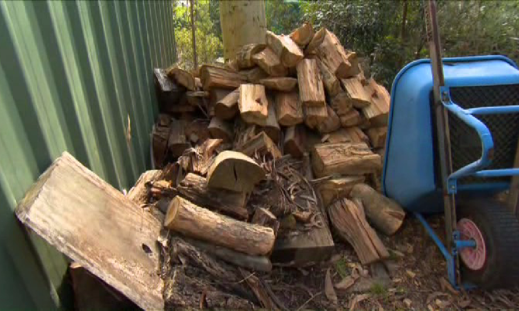 Remove fire wood