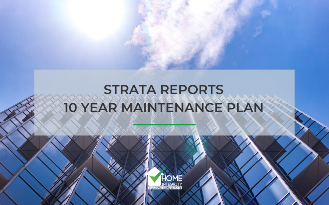 Strata Reports 10 Year Maintenance Plans