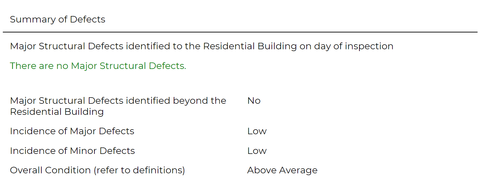 Major Structural Defects Building Inspection Perth