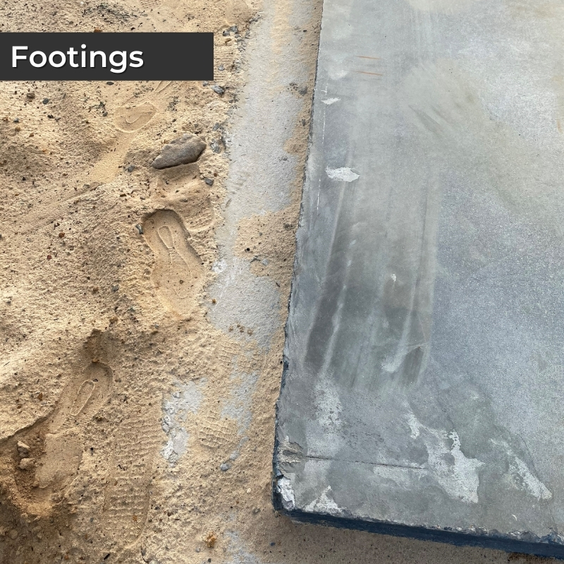 House Footings