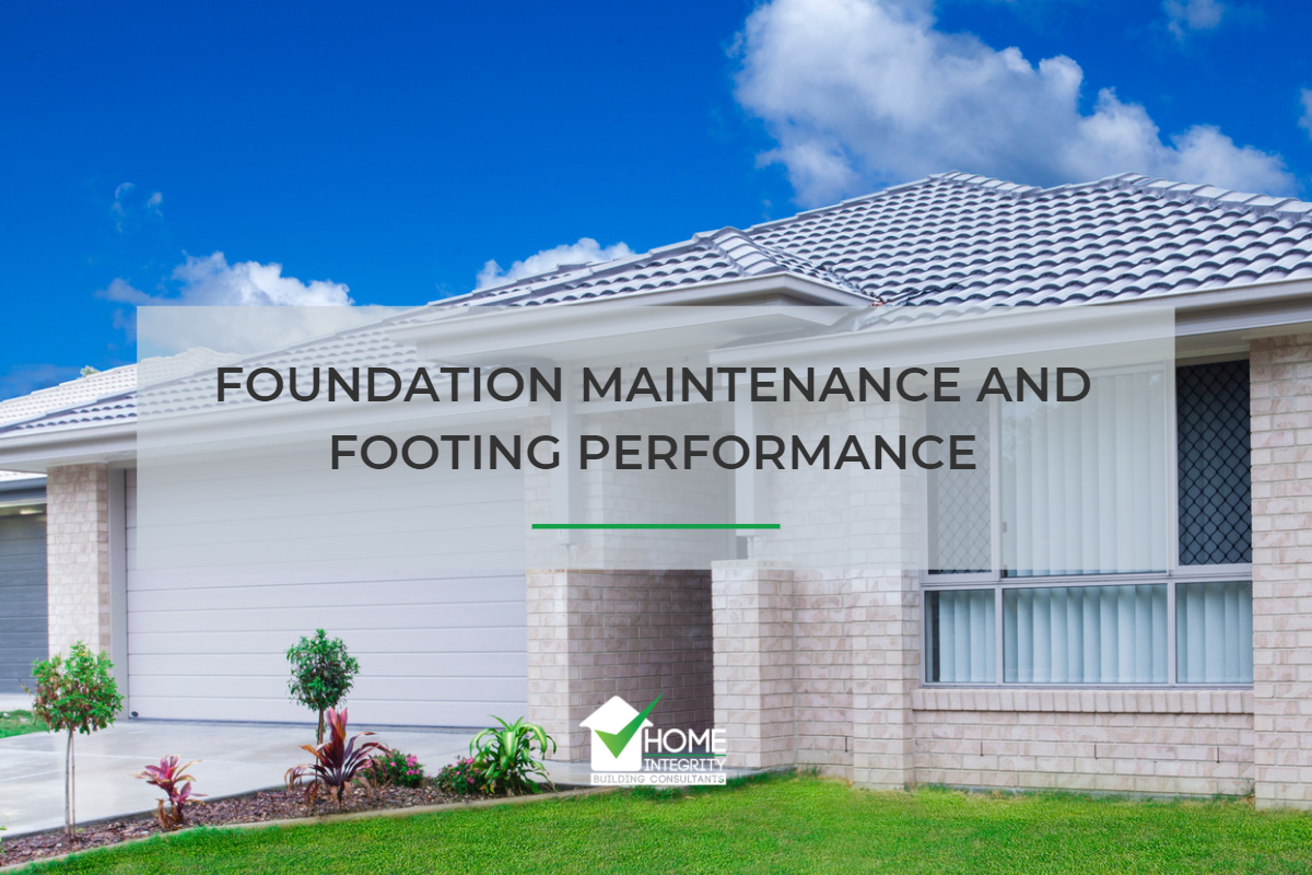 foundation maintenance and footing performance perth