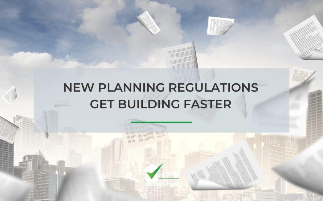 New Planning Regulations